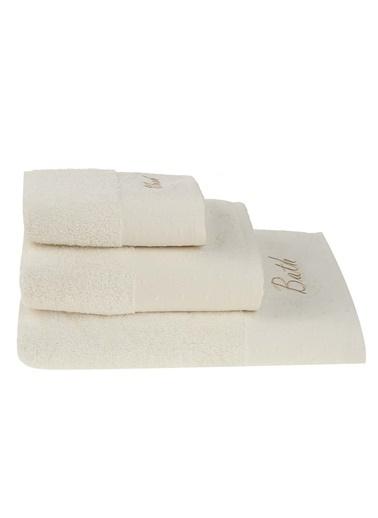 Morhipo Home Bath-Hand-Wash 3'lü Bukle Havlu Krem